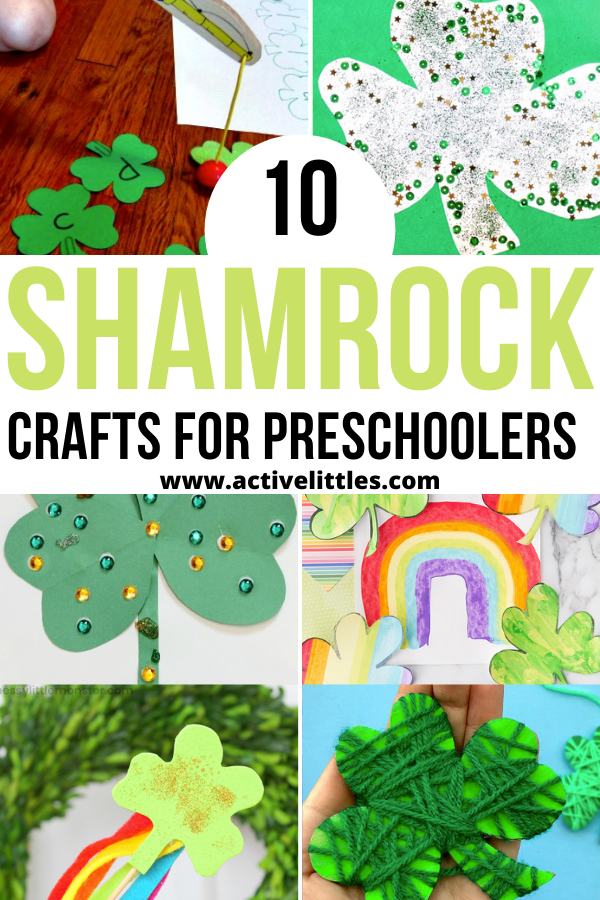 easy shamrock crafts for preschoolers