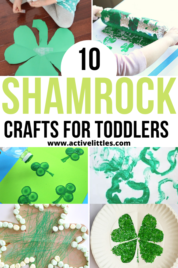 easy shamrock crafts for toddlers