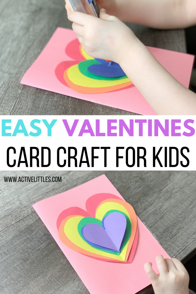 easy valentines day card craft