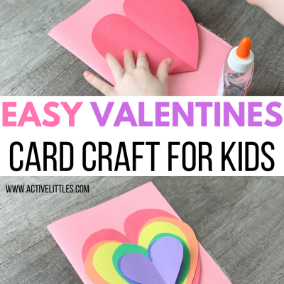 easy valentines day card craft for kids