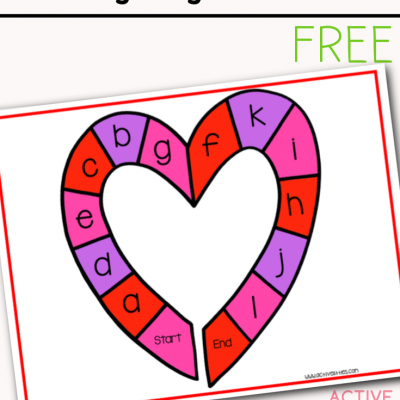 heart alphabet game printable free