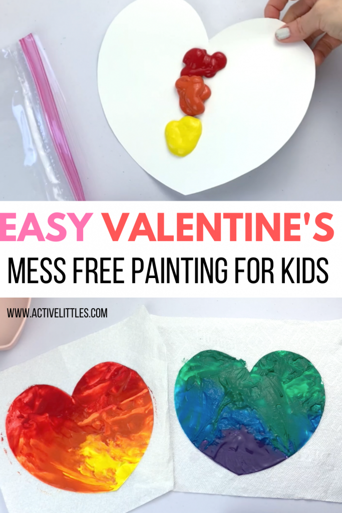 mess free painting for babies