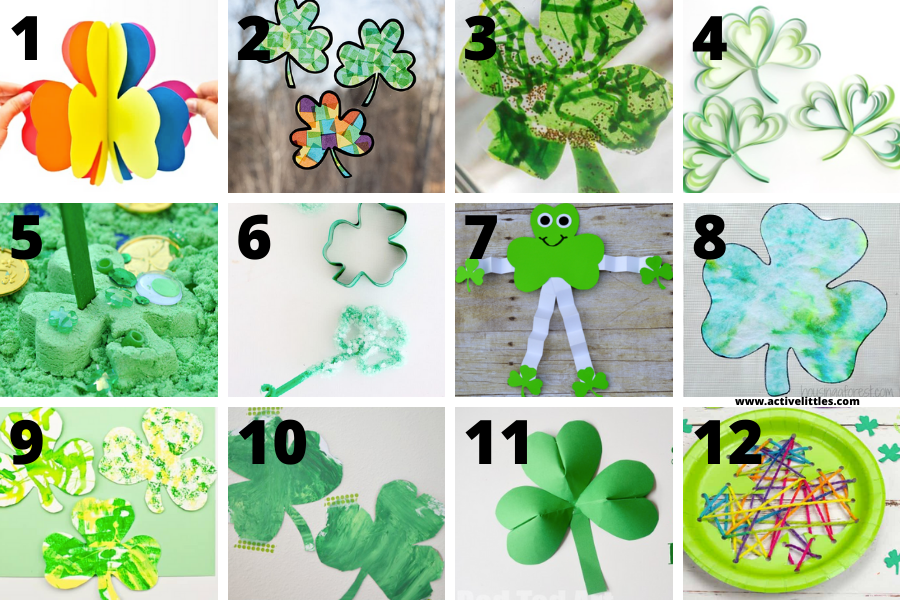 shamrock art projects for kids