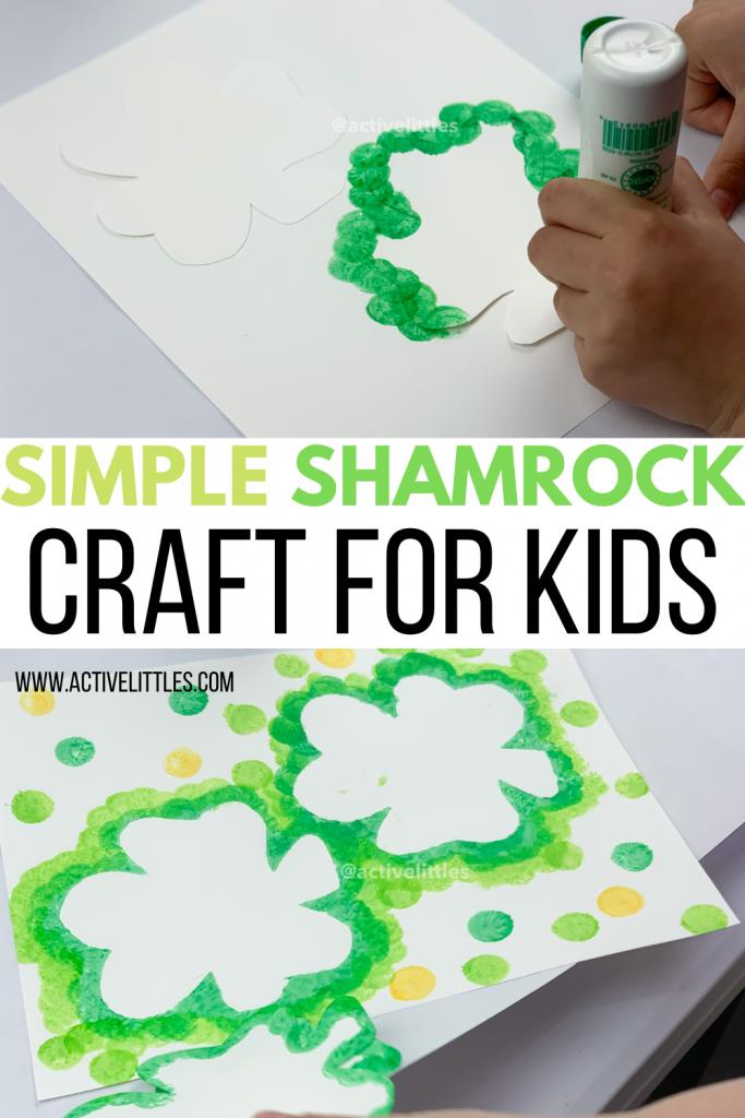 shamrock craft for kids