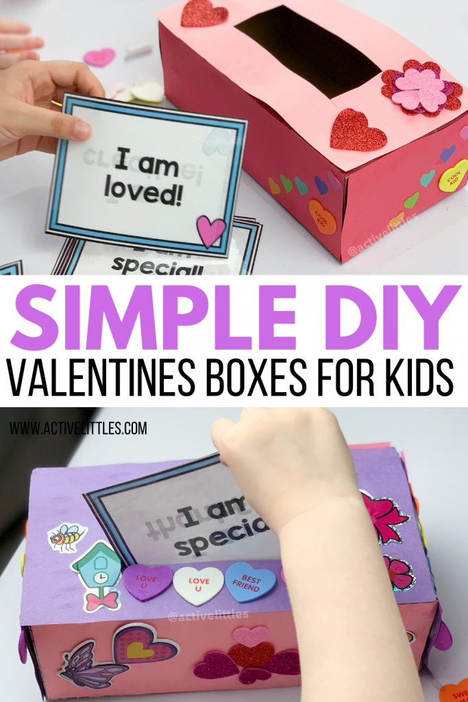 simple diy valentines boxes for kids