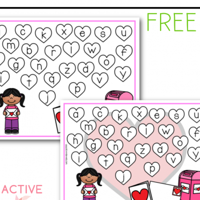 valentines day abc cover game free printable