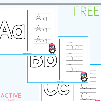 winter alphabet mats free printable