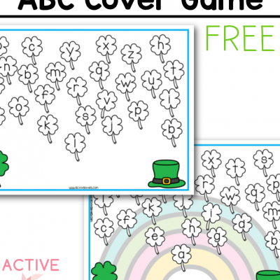 Shamrock ABC Free Printable For Kids