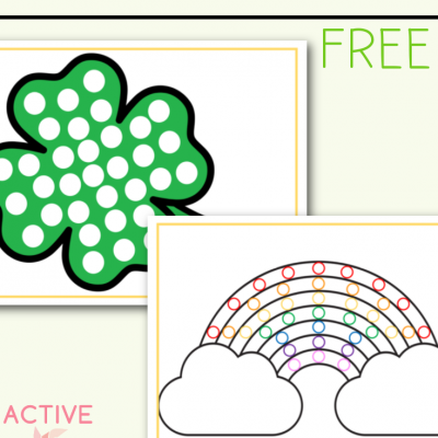 St. Patricks Day Do A Dot Free Printable