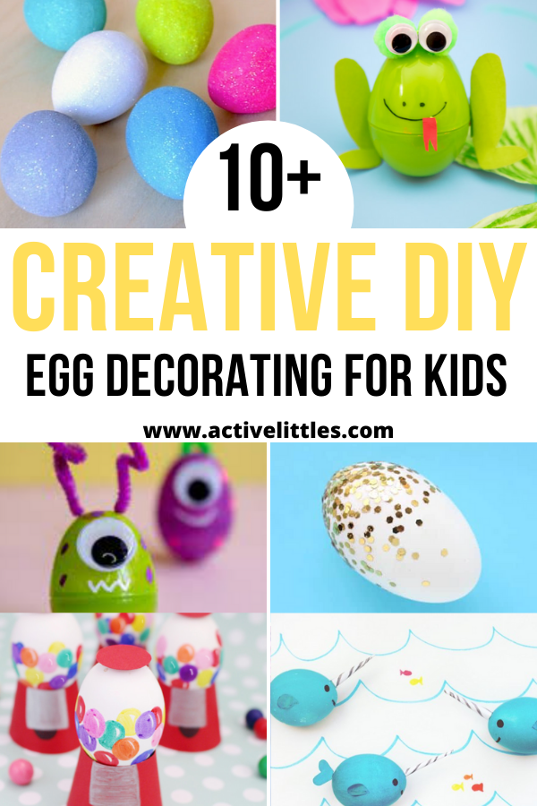 creative diy egg decorating for kids