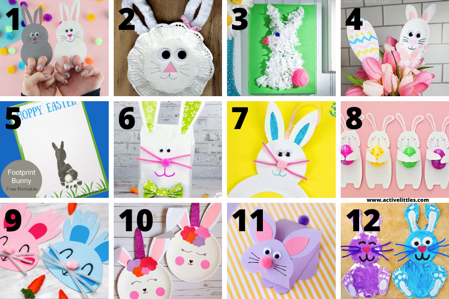cute bunny crafts for kids