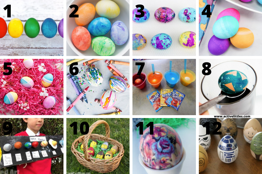 easter egg decorating ideas for school