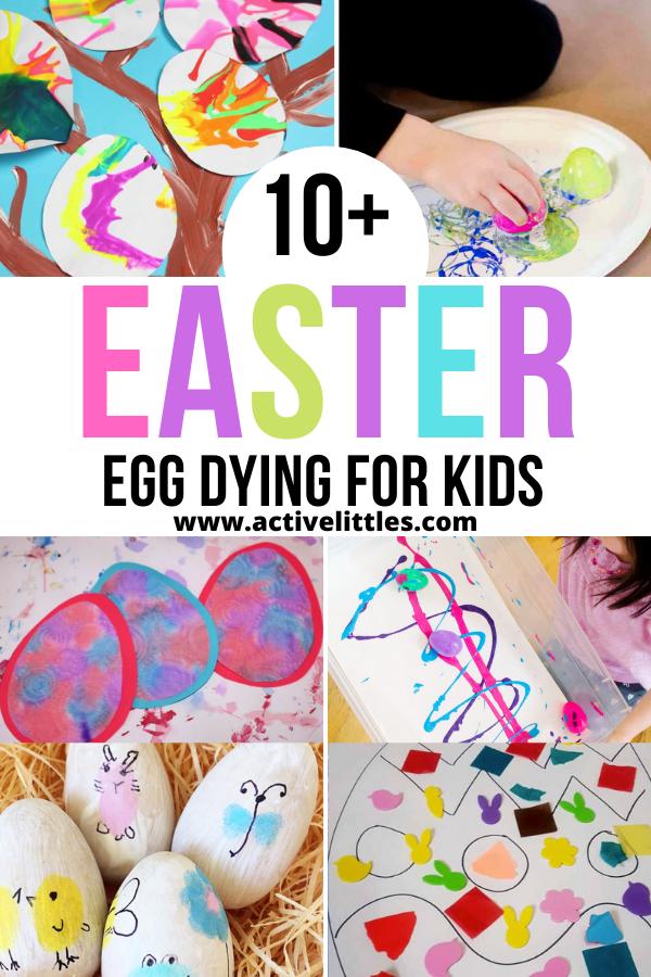 easter egg dying for kids