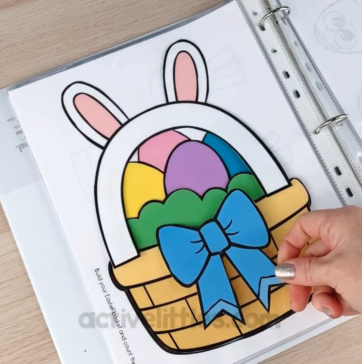 easter preschool worksheets