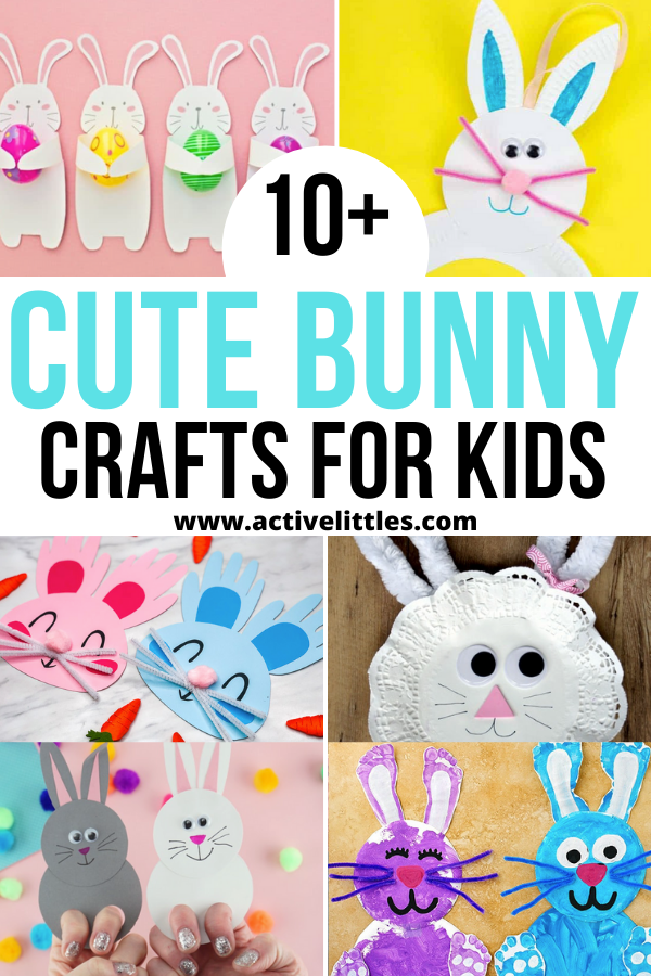 easy and cute bunny crafts for kids