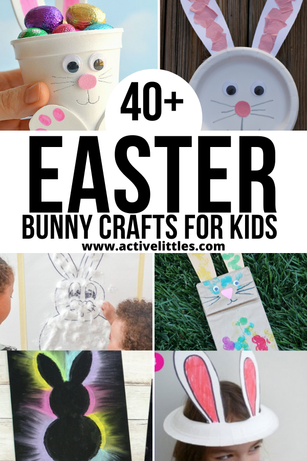 easy and fun easter bunny crafts for kids