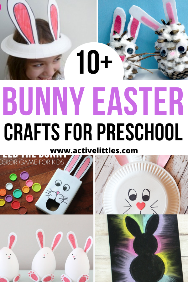 easy bunny easter crafts for preschool
