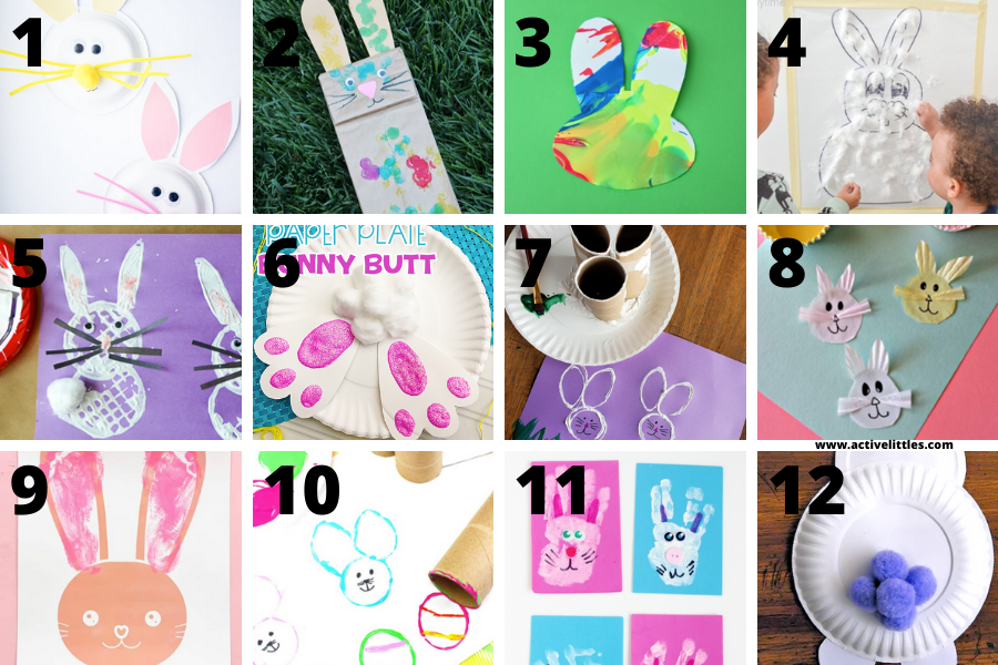 easy easter bunny crafts for toddlers