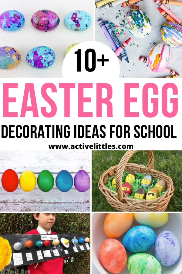 easy easter egg decorating ideas for school