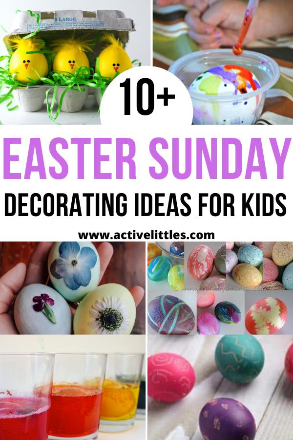 easy easter sundy decorating ideas for kids