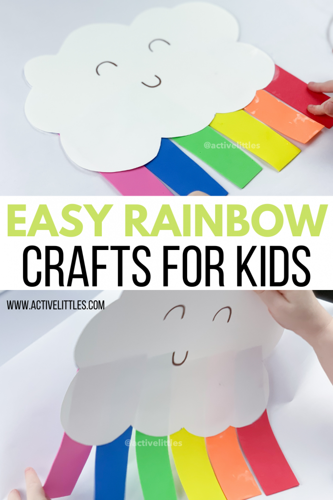 easy rainbow craft for kids
