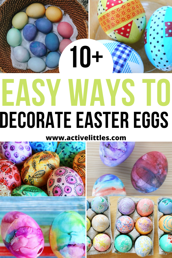 fun and easy ways to decorate easter eggs