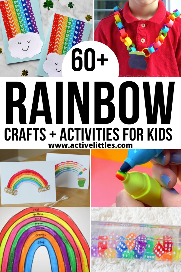 fun rainbow crafts and activities for kids
