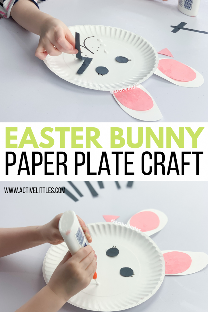 paper plate bunny crafts for kids