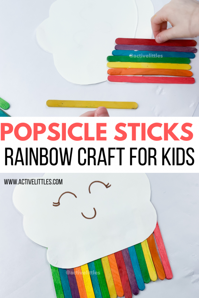 popsicle stick rainbow crafts for kids