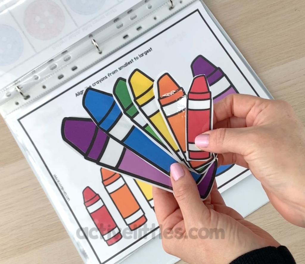 preschool activities binder