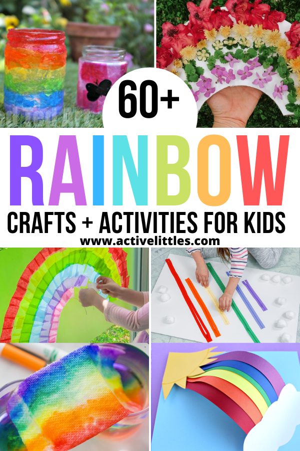 rainbow crafts activities for kids