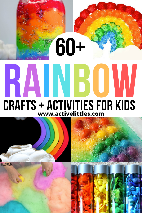 simple rainbow crafts and activities for kids