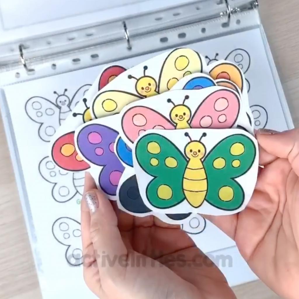 spring activities binder learning folder