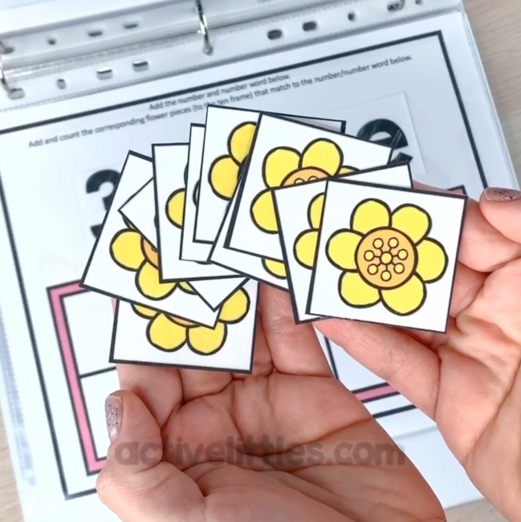 spring counting activity