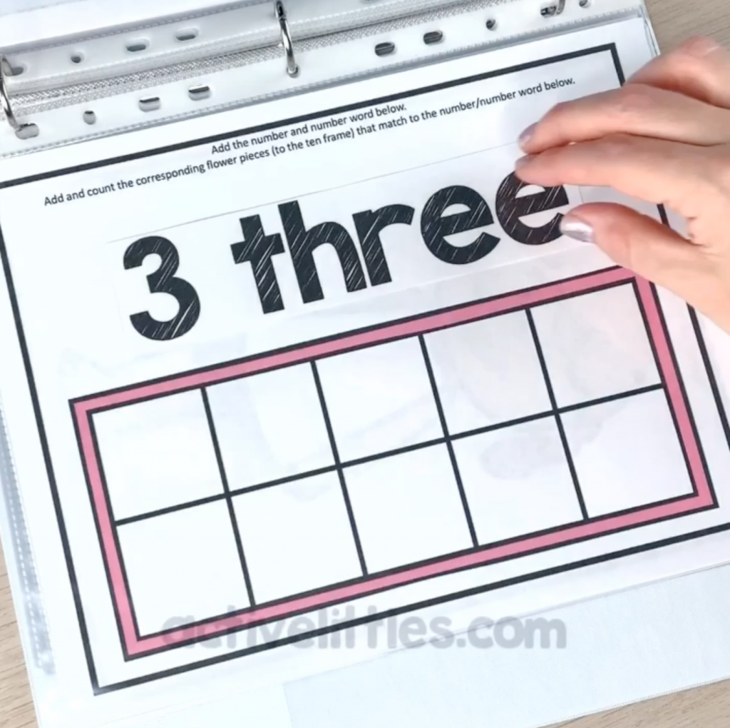 spring math activities for kids