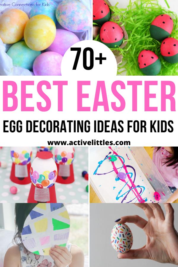 the best easter egg decorating for kids