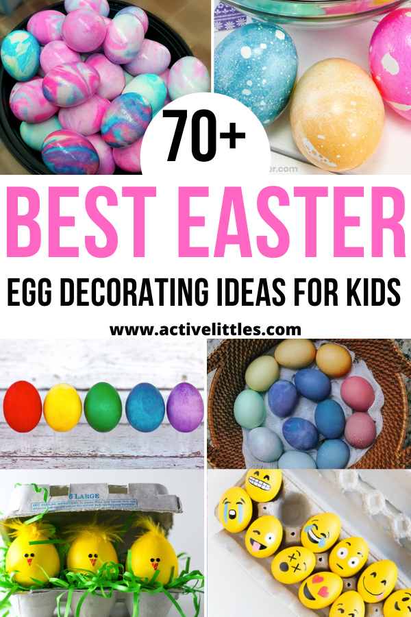 the best easter egg decorating ideas for kids