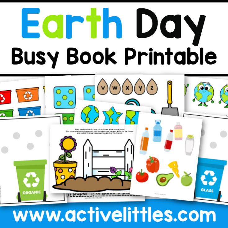 Earth Day Busy Book