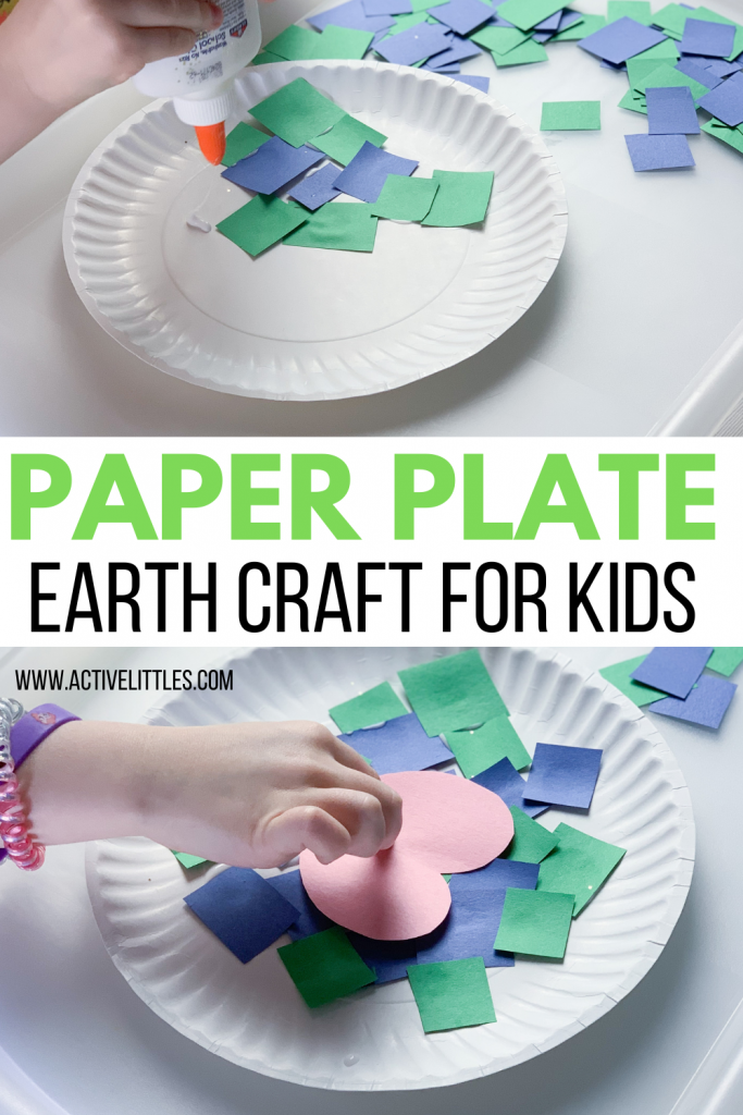 earth paper plate craft for kids