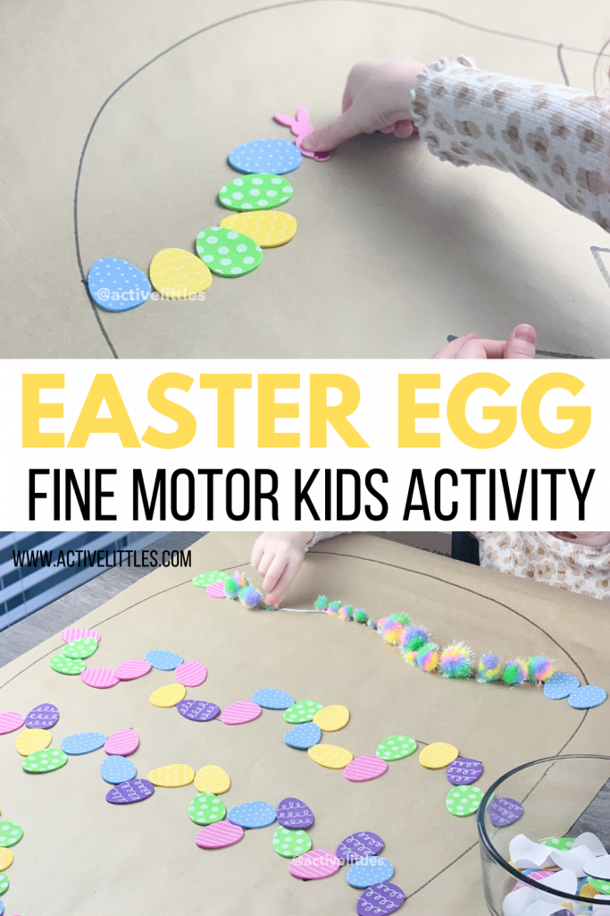 easter egg fine motor activities