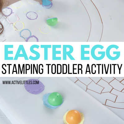 easter egg stamping activities