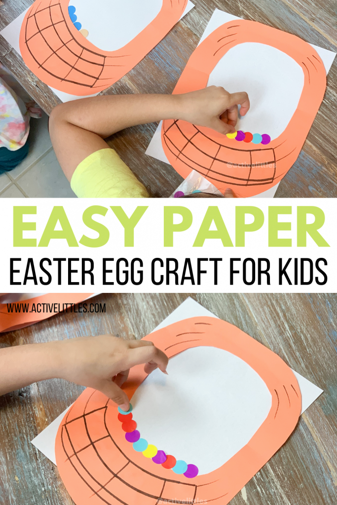 easy paper easter craft
