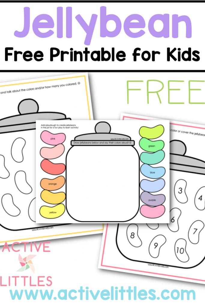 jellybean free printable for kids