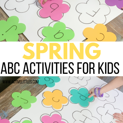 spring abc activities for kids