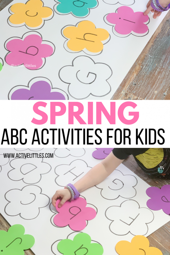 spring abc alphabet activities for kids