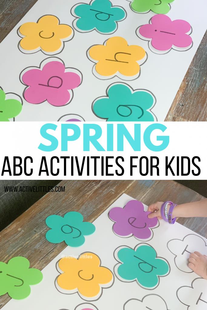 spring alphabet activities for kids