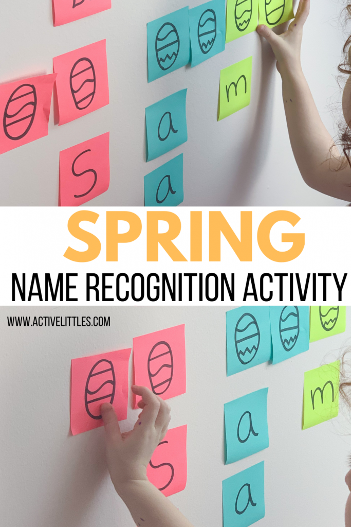 spring name recognition activity