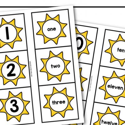 Sun free printable worksheets for kids