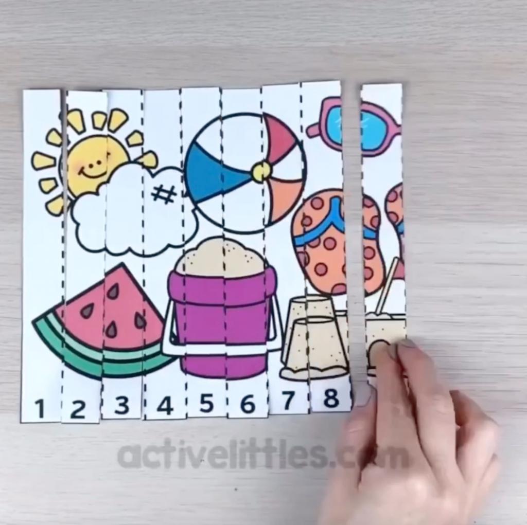 paquete de verano preescolar imprimible