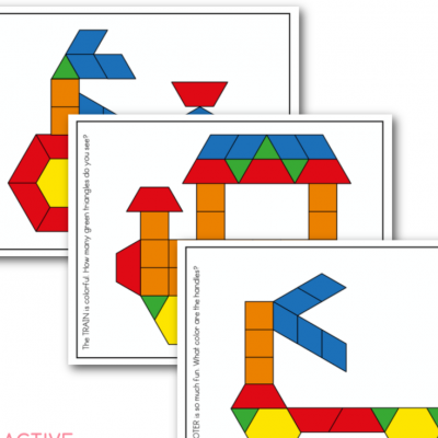 transportation pattern block free printable